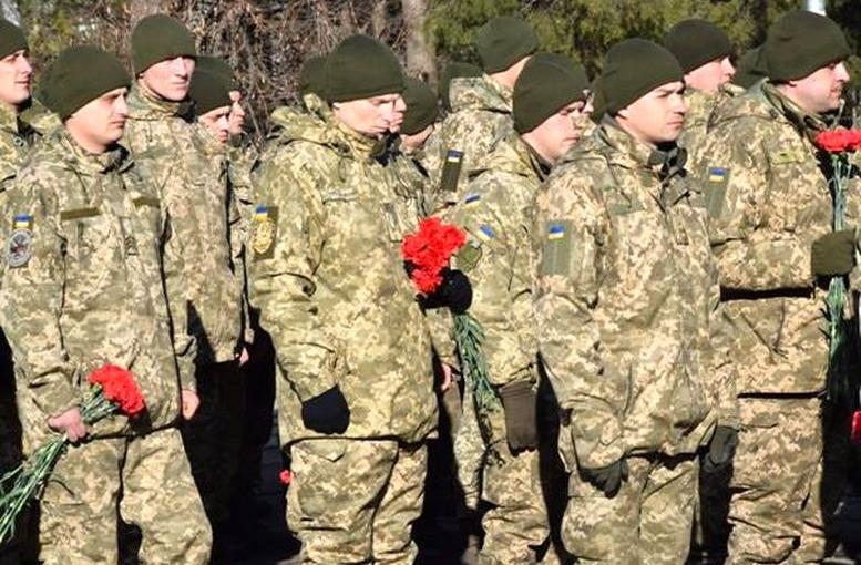Військовослужбовці 28-ї окремої механізованої бригади - Одеса - 01