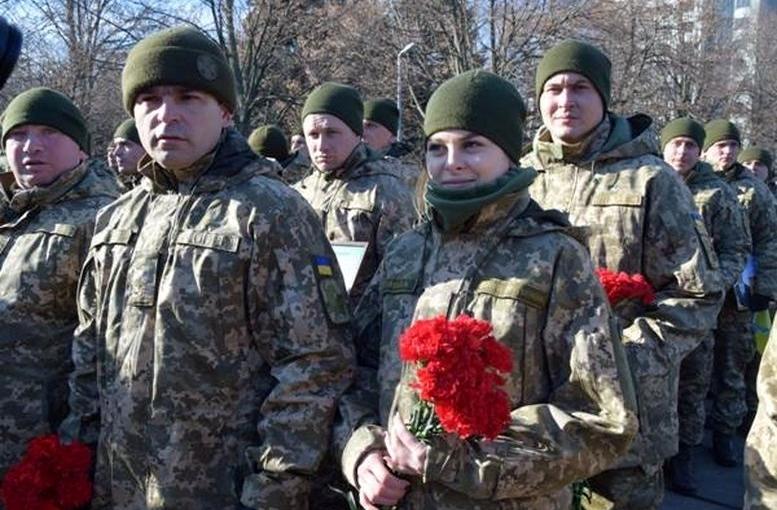 Військовослужбовці 28-ї окремої механізованої бригади - Одеса - 02