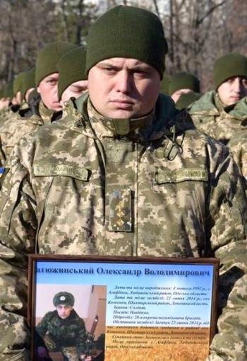 Військовослужбовці 28-ї окремої механізованої бригади - Одеса - 101