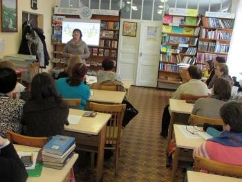 Бібліотека - семінар - Татарбунари - 09