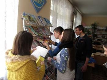 Всеукраїнський тиждень юнацької книги - Татарбунари - 03