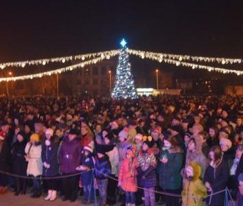 Народные гулянья в новогоднюю ночь в Измаиле - 04