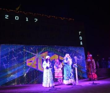 Народные гулянья в новогоднюю ночь в Измаиле - 02