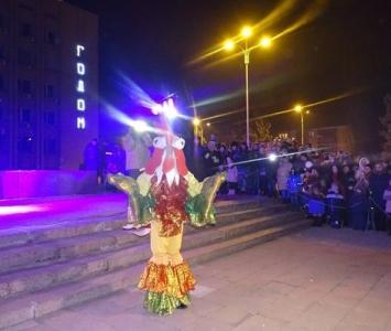 Народные гулянья в новогоднюю ночь в Измаиле - 03