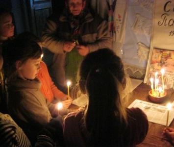 Вшанування жертв голодоморів в Україні - Миколаївський район - 03