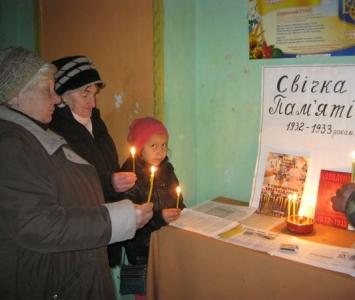 Вшанування жертв голодоморів в Україні - Миколаївський район - 05