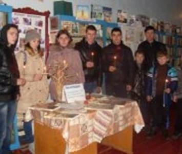 Вшанування жертв голодоморів в Україні - Миколаївський район - 06
