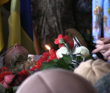 Татарбунари попрощалися із героєм АТО Романом Гульченко - 02