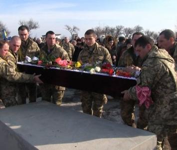 Татарбунари попрощалися із героєм АТО Романом Гульченко - 04