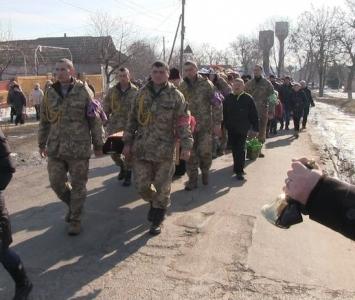 Татарбунари попрощалися із героєм АТО Романом Гульченко - 08