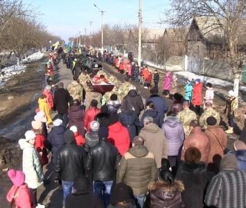 Татарбунари попрощалися із героєм АТО Романом Гульченко - 12