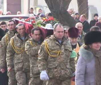 Татарбунари попрощалися із героєм АТО Романом Гульченко - 14