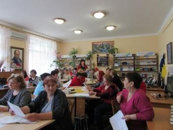 семінар - підвищення кваліфікації - бібліотека - Татарбунари - 01