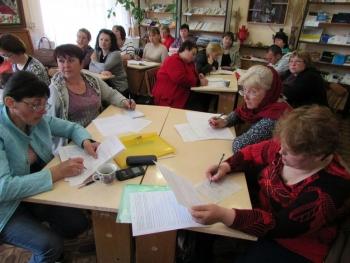 семінар - підвищення кваліфікації - бібліотека - Татарбунари - 02