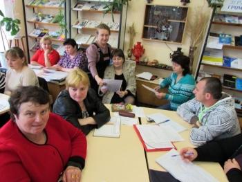 семінар - підвищення кваліфікації - бібліотека - Татарбунари - 04