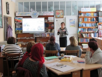 семінар - підвищення кваліфікації - бібліотека - Татарбунари - 06