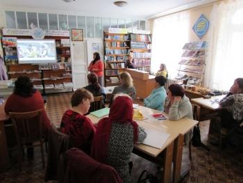 семінар - підвищення кваліфікації - бібліотека - Татарбунари - 07