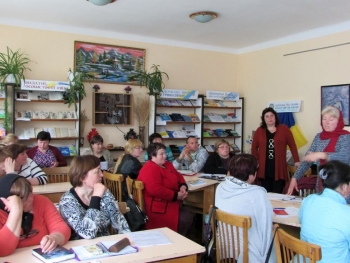 семінар - підвищення кваліфікації - бібліотека - Татарбунари - 08