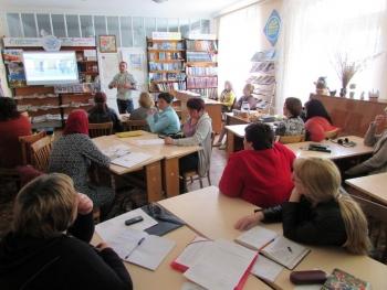 семінар - підвищення кваліфікації - бібліотека - Татарбунари - 09