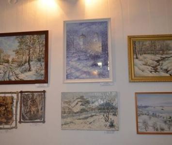 Художественная выставка «Дыхание зимы» - Измаил - 01