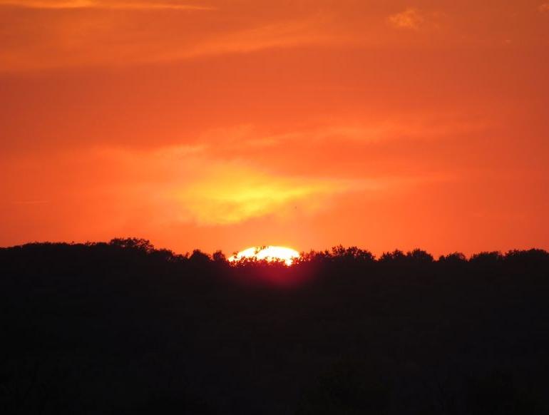 Плахтіївка - захід сонця - 1