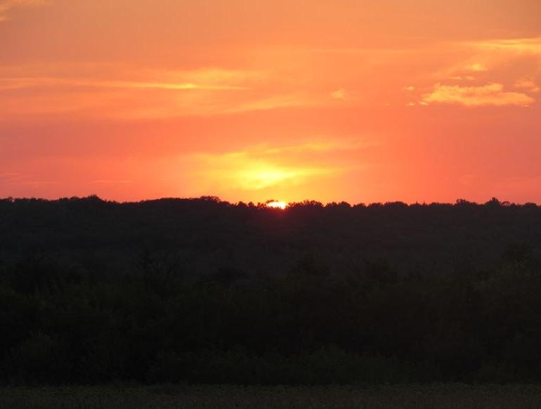 Плахтіївка - захід сонця - 2