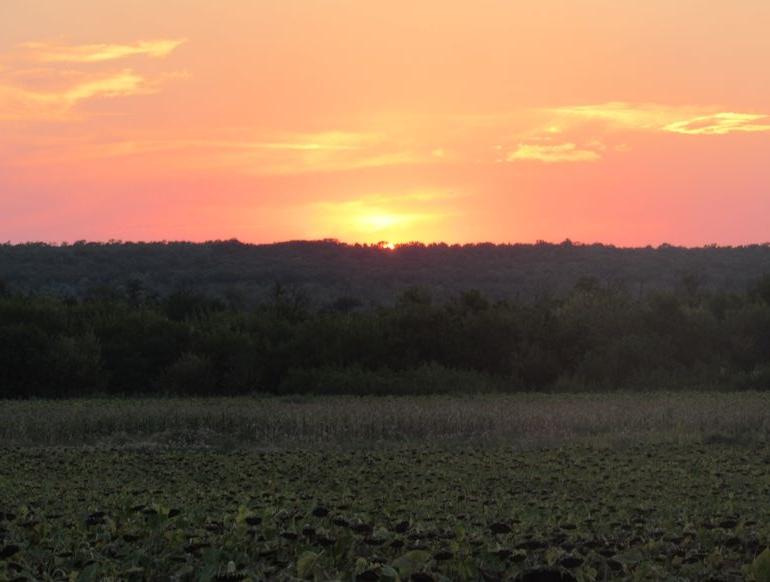 Плахтіївка - захід сонця - 3