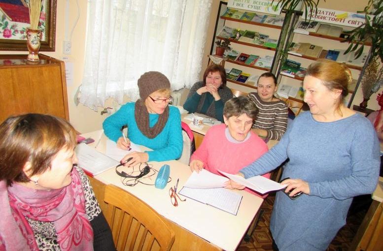 семінар для працівників сільських бібліотек - Татарбунари - 01