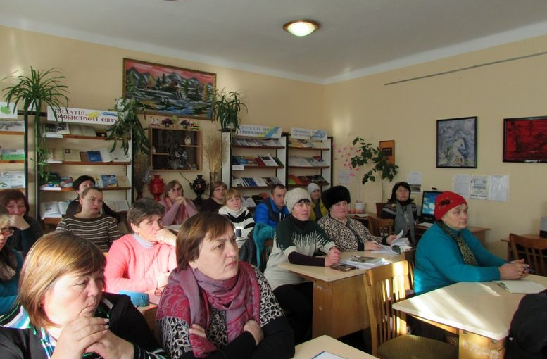 семінар для працівників сільських бібліотек - Татарбунари - 02