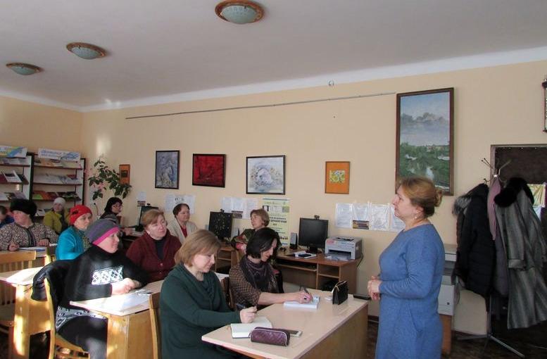 семінар для працівників сільських бібліотек - Татарбунари - 03