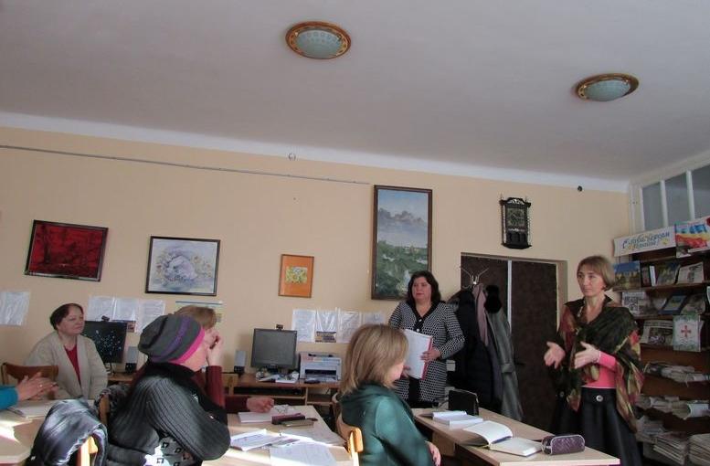 семінар для працівників сільських бібліотек - Татарбунари - 04