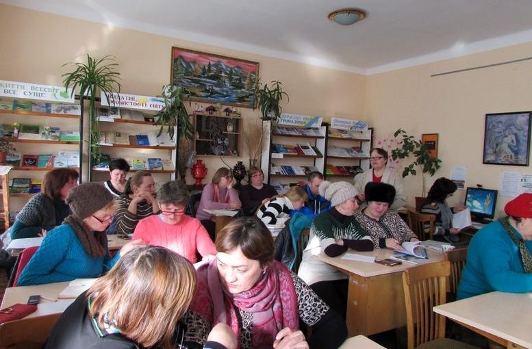 семінар для працівників сільських бібліотек - Татарбунари - 05