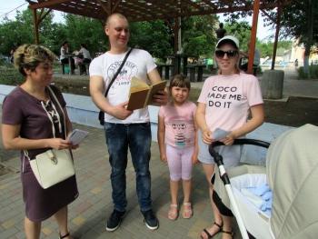 літній бібліомайданчик - Татарбунари - бібліотека - 02