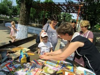 літній бібліомайданчик - Татарбунари - бібліотека - 07