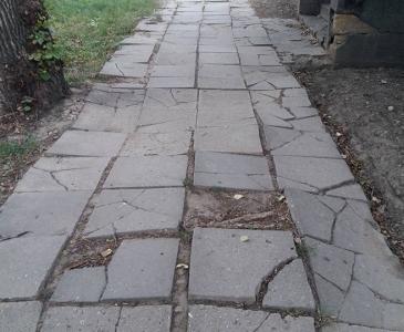 Вулиці Березівки суттєво змінилися - як було тротуар - 2