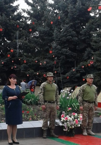Всеукраїнська акція «Маки пам'яті» - Велика Михайлівка - 04