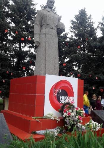 Всеукраїнська акція «Маки пам'яті» - Велика Михайлівка - 05