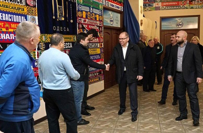 Одеська обласна федерація футболу може стати тимчасовим членом «Федерації футболу України» - 01