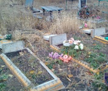 Хэллоуин на кладбище - Окнянский район - 02