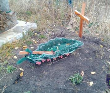 Хэллоуин на кладбище - Окнянский район - 03