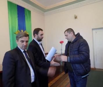 Привітання учасників АТО - Захарівка - 03