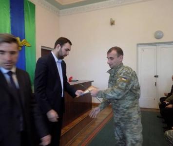 Привітання учасників АТО - Захарівка - 04