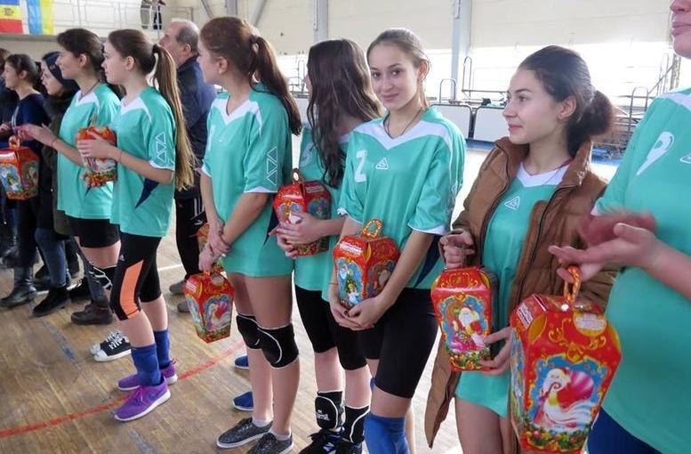 ХХІІ Международный Рождественский турнир по волейболу среди девушек - Измаил - 01
