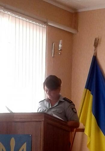 Великомихайлівське відділення поліції - учні - школа - зустріч - 03