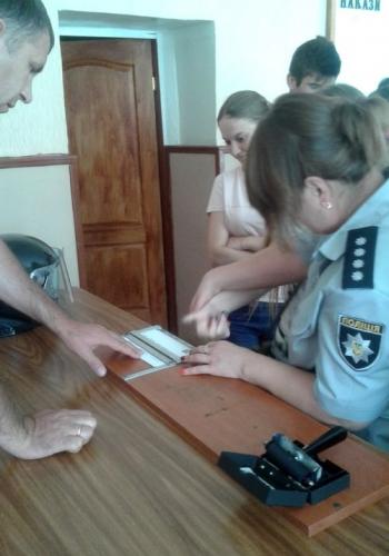 Великомихайлівське відділення поліції - учні - школа - зустріч - 06