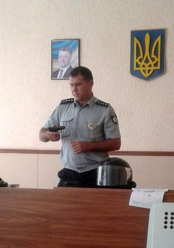 Великомихайлівське відділення поліції - учні - школа - зустріч - 08