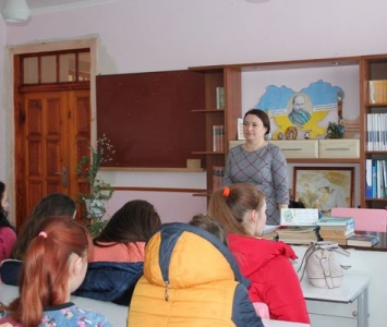 Бесіда-лекція в рамках Всеукраїнського тижня права - Саврань - 2