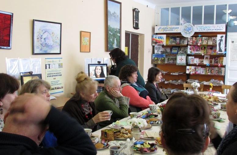 літературний вечір «Мій шлях – щастя» - Татарбунари - бібліотека - 02