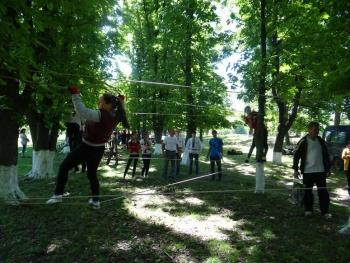 Військово-патріотична гра «Сокіл» («Джура») - І етап - 01