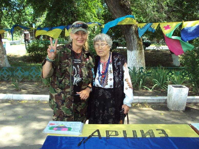 Всеукраїнська акція «Велика українська хода» - Арциз - 3